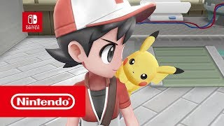 Pokémon: Let's Go, Pikachu! & Pokémon: Let's Go, Eevee! - Tráiler revelación (Nintendo Switch)