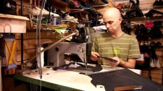 Как поменять подошву на сапогах. Ремонт обуви.(В этом видео покажу как заменить подошву на женских сапогах. Данный вид ремонта довольно сложен, а потому..., 2013-10-31T10:35:54.000Z)