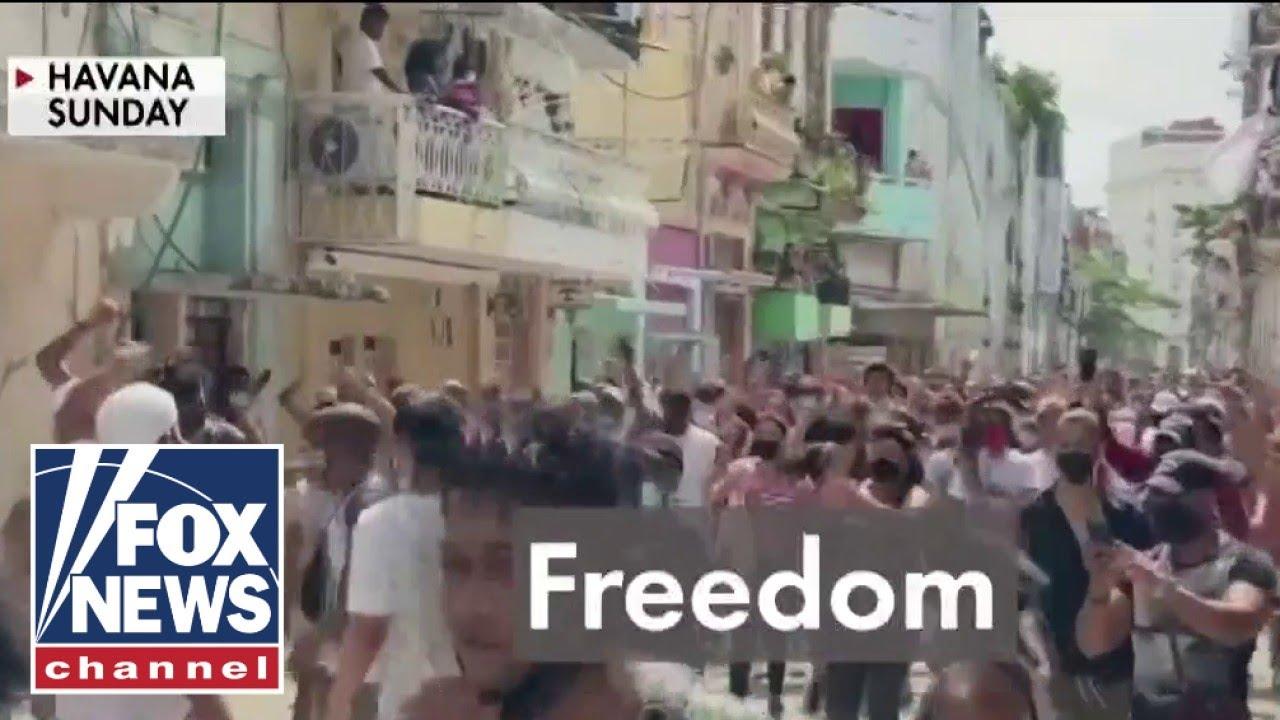 'The Five' blast Biden administration's response to Cuba's uprising