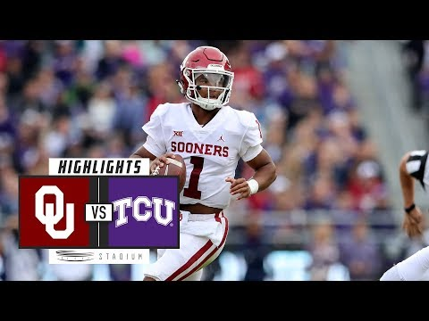 No. 9 Oklahoma vs. TCU Football Highlights (2018) | Stadium