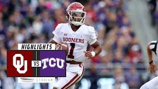 No. 9 Oklahoma vs. TCU Football Highlights (2018)   Stadium