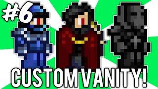 Terraria Custom Vanity Outfits #6 (sub-zero, Iron Man, & Leonidas!) // Demize