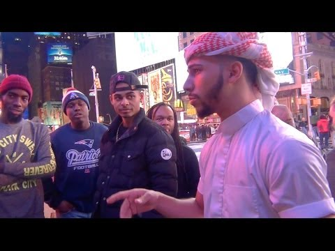 ARAB GUY HAS AN EPIC RAP BATTLE!