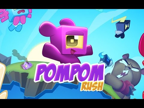 PomPom Rush - Children HD Android / iOS GamePlay Trailer