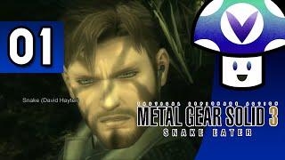 [Vinesauce] Vinny - Metal Gear Solid 3: Snake Eater (part 1) + Art!