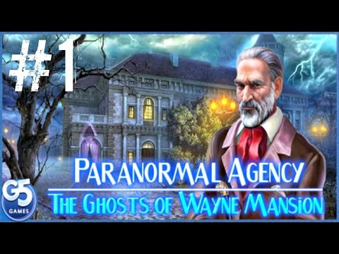 Paranormal Agency 2 (By G5 Entertainment) iOS / Android Gameplay Video PART #1