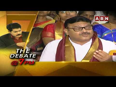 స్వేచ్ఛకు సంకెళ్ళు   The Debate With Venkata Krishna   Promo   11-07-2020   ABN Telugu teluguvoice