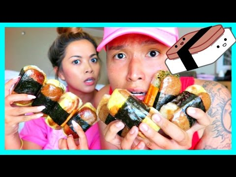 SPAM MUSUBI TASTE TEST!!!