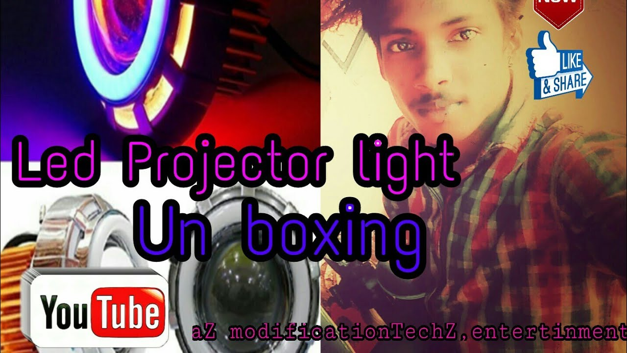 Led projector light unbox ചെയ്താലോ