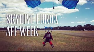 AFF Course Week at Skydive Euroa, Victoria