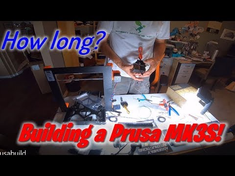 From parts to printing - Prusa MK3S Kit Build