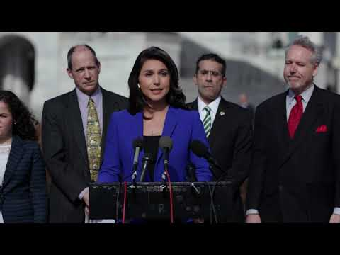 Press Conference: Tulsi Introduces Legislation to Prevent Trump from Escalating Nuclear Arms Race