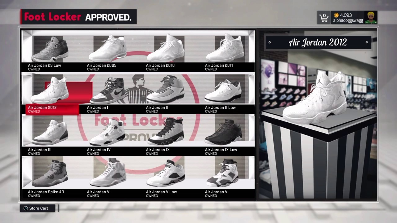 NBA 2K17| How to Equip Your Custom Made Shoe
