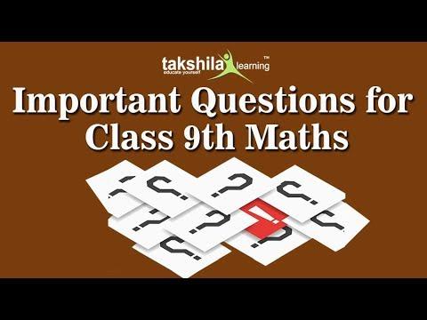 CBSE Class 9 Maths | Important Practical Question | CBSE Syllabus | ICSE |  NCERT Solution