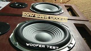 Sony Shake Woofer - Woofer Test