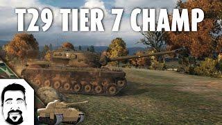 world of tanks e58 t29 tier 7 champ