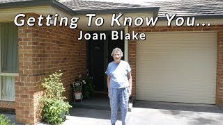 BMFS Getting To Know You - Joan Blake (Meals Client)