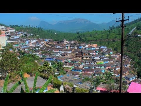 The hill station town, Valparai