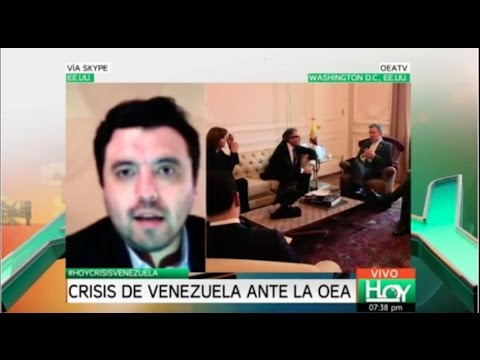 Alocución Cable Noticias - Pelea entre OEA y Venezuela
