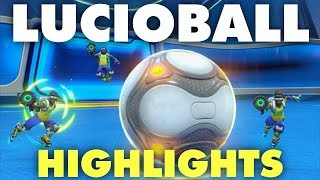 Overwatch LUCIOBALL Highlights | Krazack = GOD