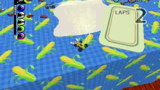 Micro Machines 64 Turbo - Chessy Jumps