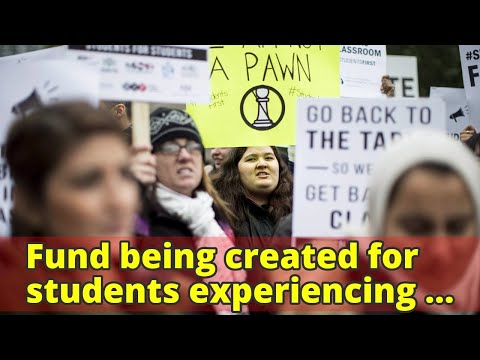 Fund being created for students experiencing hardship due to college strike