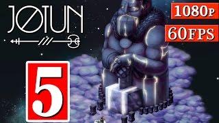 Jotun Gameplay Walkthrough - Part 5 The Northern Sky 1080p 60FPS