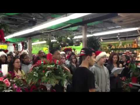 Freeport High School performs at Atlantic Nursery