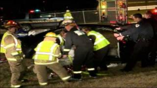 03.08.09 - Car accident with report of rescue, Race St., Hanover Township, PA