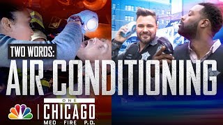 One Chicago How Do the Casts of Chicago Fire and Chicago PD Beat the Heat - Chicago Fire