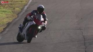 Backing in drifting Yamaha R1