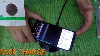 видео Беспроводная зарядка для Samsung Galaxy S7 на Алиэкспресс
