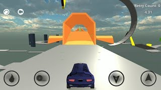Glide Car (Level 1 - 4) Gameplay  | Android Racing Game