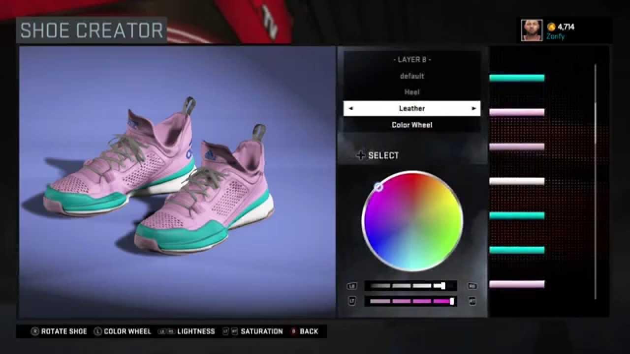 NBA 2K16 Shoe Creator - Adidas D Lillard 1