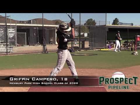 Griffin Campero Prospect Video, 1b, Newbury Park High School Class of 2022