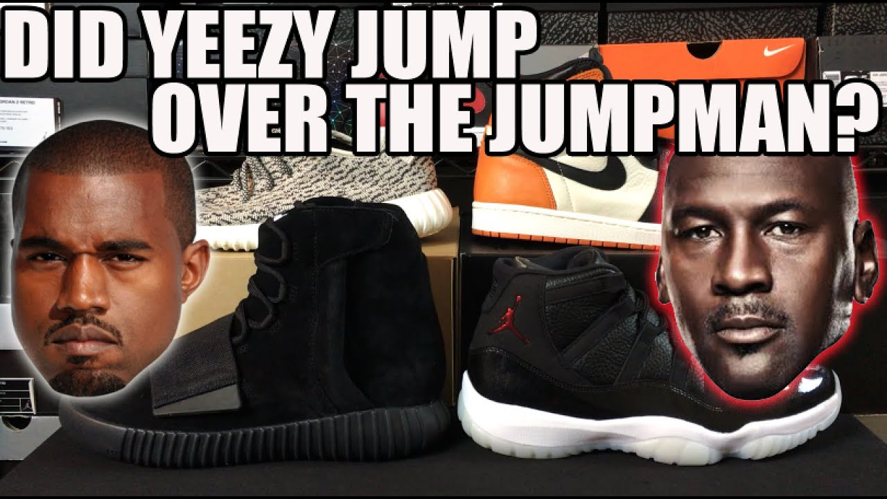 e60a150571be1 Discussion  Did Yeezy Jump over the Jumpman   FACTS or Fiction  (Kanye Diss  Song Reaction)
