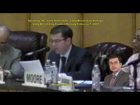 Long Beach City Council City Manager Update 02/07/17