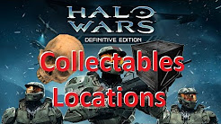 Halo Wars - all skull and black box locations