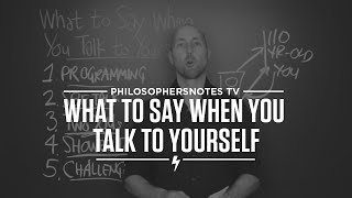 What to Say When You Talk to Yourself by Shad Helmstetter, Ph.D.