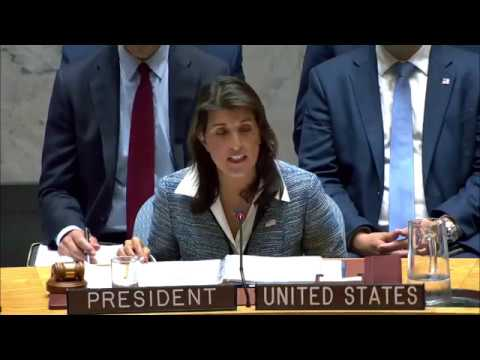 Remarks at a UN Security Council Briefing on the Situation in Nicaragua