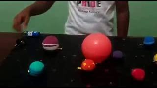 Solar System Project|Science Project For Kids | How to make Solar System
