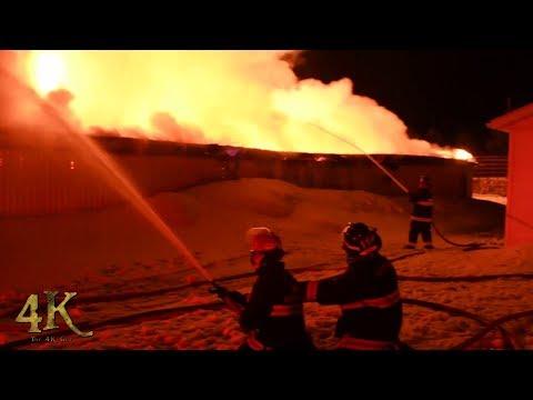 Amos: Feu majeur d'une résidence / Major residential structure fire 4-18-2018