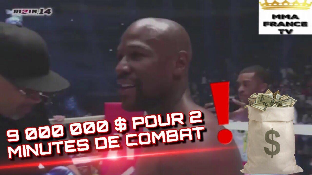 FLOYD MAYWEATHER vs TENSHIN NASUKAWA : COMBAT EN ENTIER - KO AU 1er ROUND !!! - YouTube