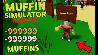 +999999 MUFFINS in Roblox Muffin Simulator
