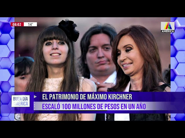El patrimonio de Máximo Kirchner escaló 100 millones de pesos en un año