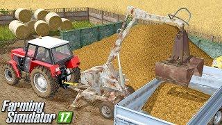 Załadunek obornika cyklopem - Farming Simulator 17 | #69