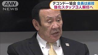 全日本テコンドー協会 強化スタッフ3人を解任へ(19/10/09)