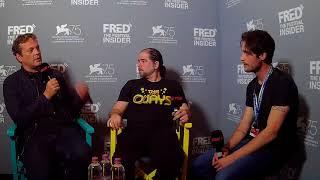 S. Craig Zahler And Vince Vaughn - DRAGGED ACROSS CONCRETE - 75 Venice Film Festival