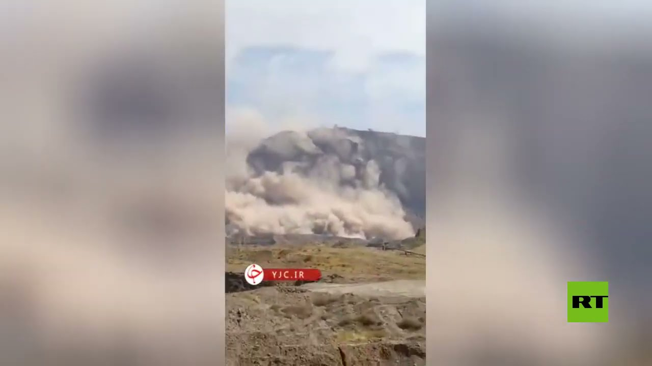شاهد.. انهيارات جبلية جراء الزلزال في إيران  - نشر قبل 4 ساعة