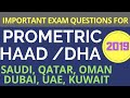LATEST PROMETRIC NURSING EXAM QUESTIONS 2019 || HAAD/DHA REVIEW QUESTIONS FOR NURSES,